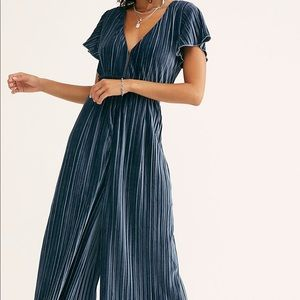 Free People Velvet Luxe Jumpsuit